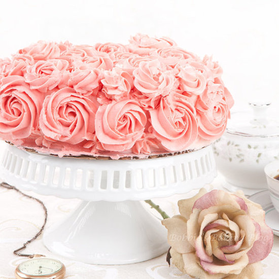 champagne and roses genoise