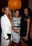 Erika Heynatz, Sophie Falkiner and Megan Gale