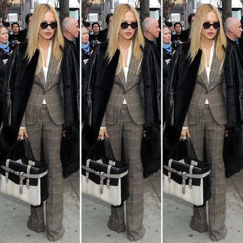 Rachel Zoe Plaid Suit