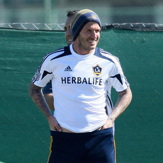 David Beckham Soccer Field in LA Pictures