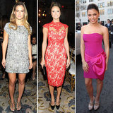 Stacy Keibler, Bar Refaeli and Jenna Dewan Dress Up For Marchesa