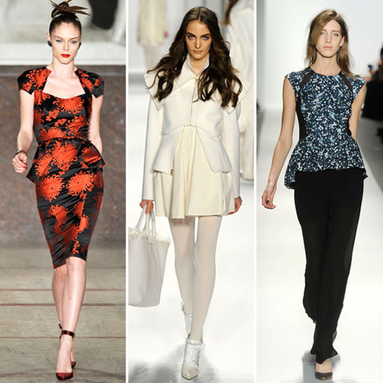 New York Fashion Week Trendspotting: Peplum