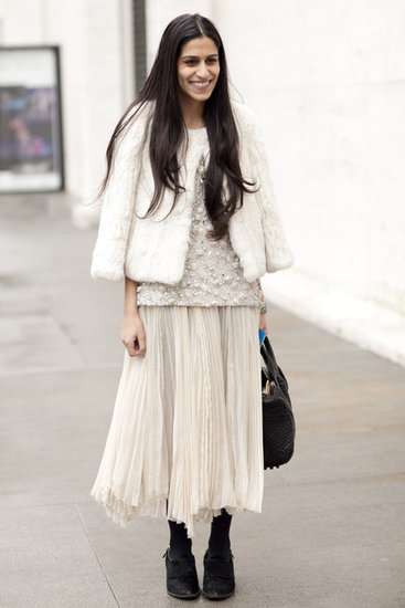 All white street style via Fashionology