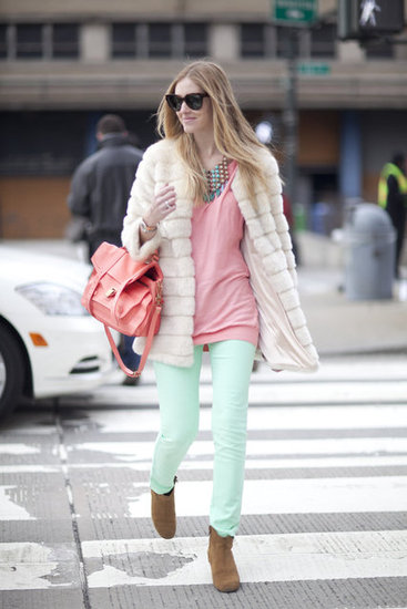 Street Style Fashion Week Fall 2012
