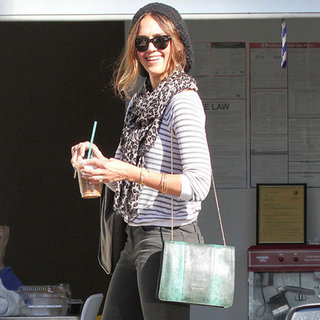 Celebrities Carrying Green Bags