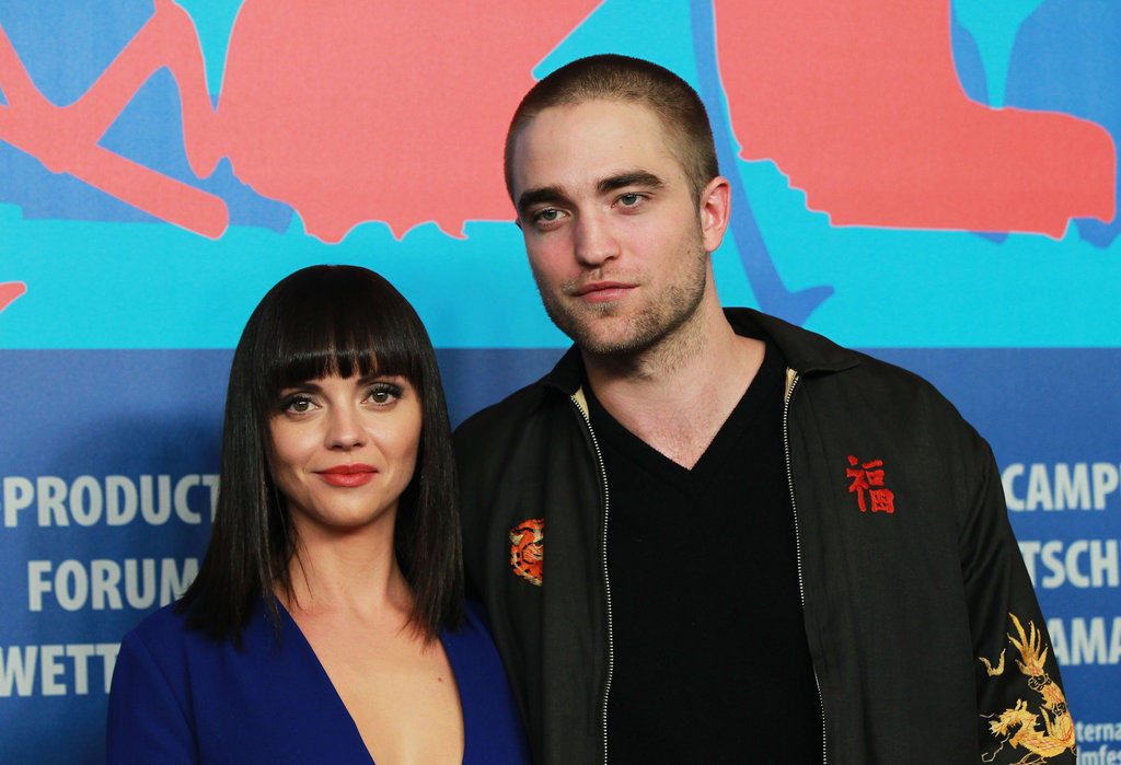Robert Pattinson struck a pose next to Christina Ricci.