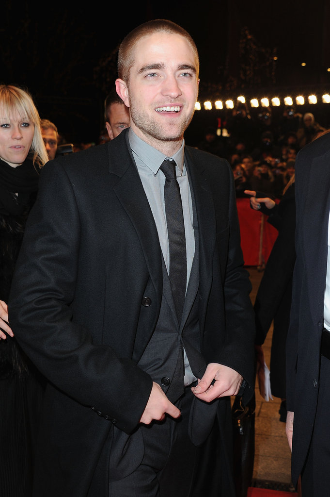 Rob looked handsome as ever in his suit.