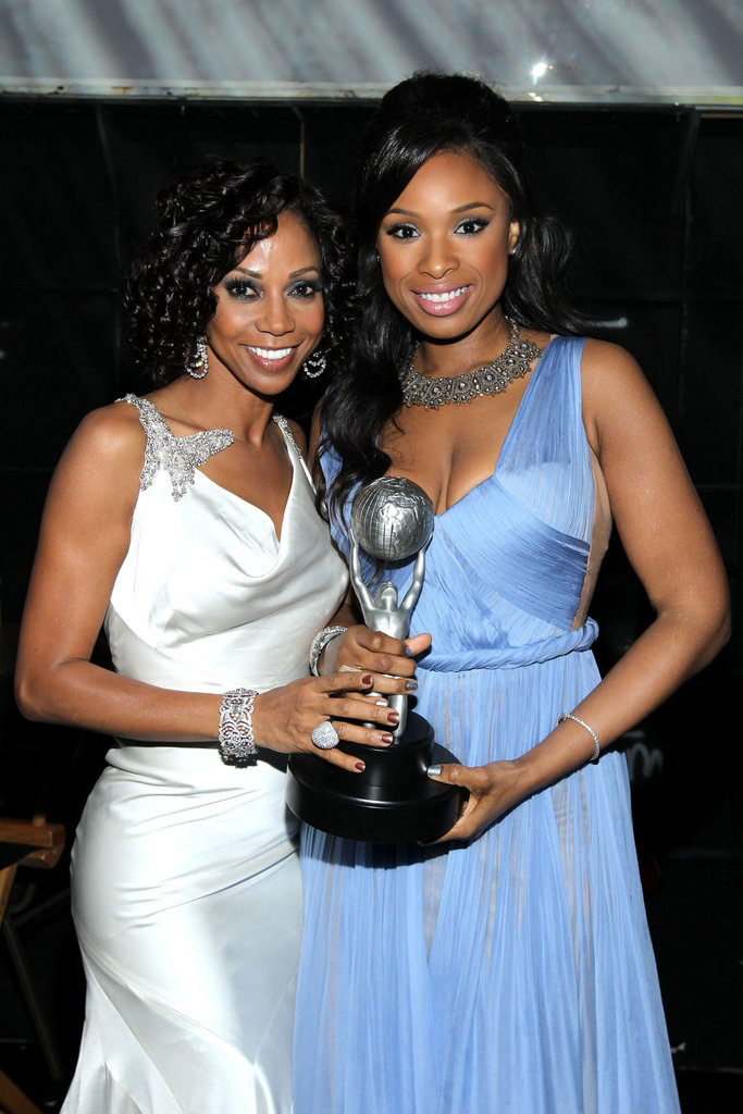 Holly Robinson Peete and Jennifer Hudson