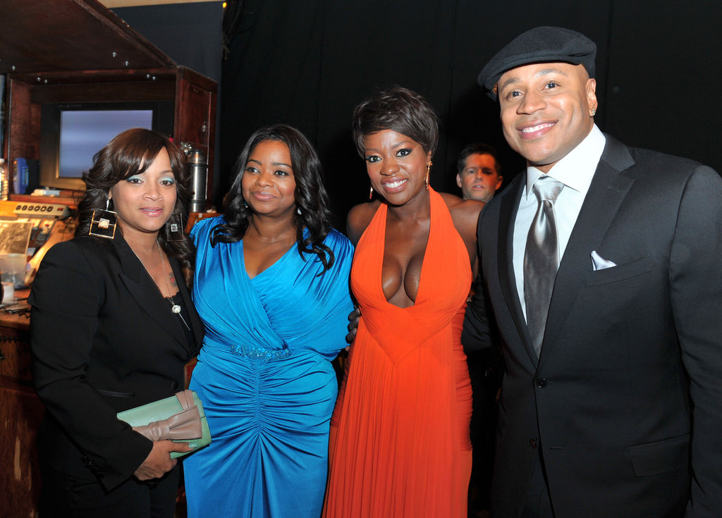 Simone, Octavia, Viola, and LL Cool J