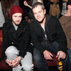 Matt Damon Justin Timberlake Pictures at Guns N Roses Show