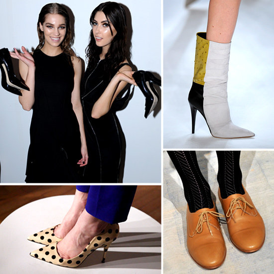 The Best Designer Shoes As Spotted on New York Fashion Week Fall 2012 Runways! Marc Jacobs, Kate Spade, Derek Lam & more!