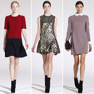 Review and Pictures of Victoria Victoria Beckham Fall 2012 New York Fashion Week Presentation