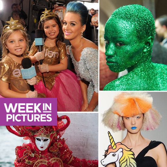 Sophia Grace and Rosie Interview Katy Perry at Grammys, Unicorns and Glitter Hit NYFW, Plus V-Day Celebrations