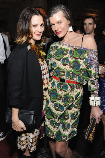 Milla Jovovich, Lou Doillon, Winona Ryder, Jessica Chastain and More Fete Marni For H&M in LA