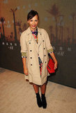Rashida Jones attended the Marni at H&M Collection Launch at Lloyd Wright's Sowden House in LA.
