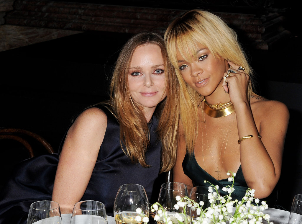 Stella McCartney Kicks Off London Fashion Week With Kate, Rihanna, and Alexa