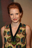 Jessica Chastain wore Marni for H&M.