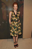 Jessica Chastain attended the Marni at H&M Collection Launch at Lloyd Wright's Sowden House in LA.