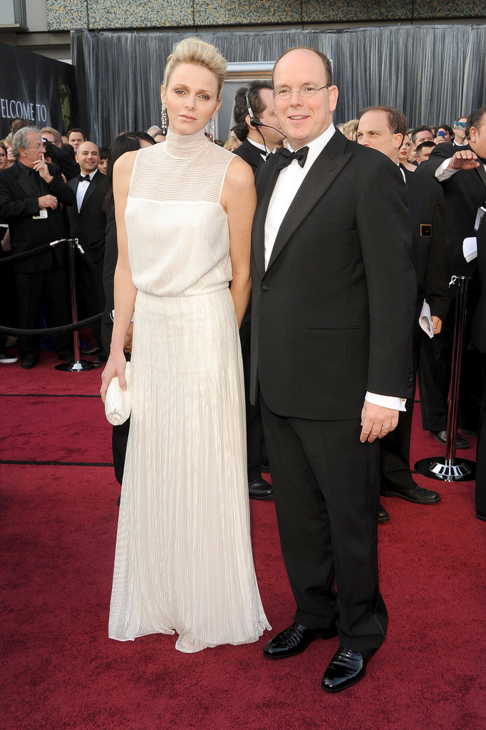 Prince Albert and Charlene Wittstock