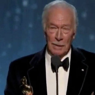 Christopher Plummer Oscar Acceptance Speech Video