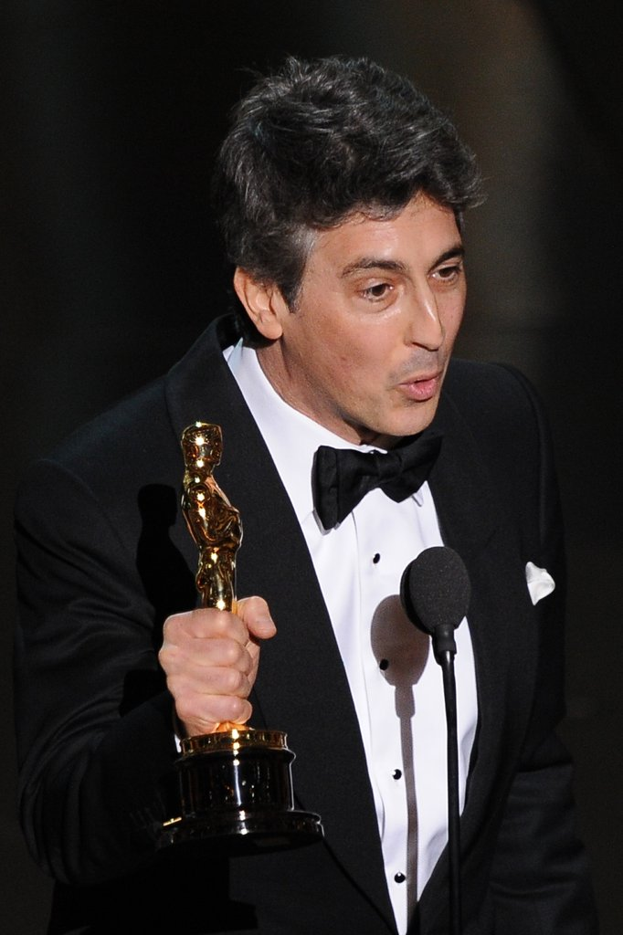 The Descendants director Alexander Payne accepted the award for Best Adapted Screenplay.