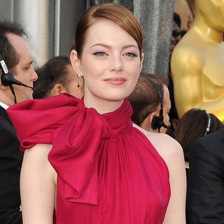Emma Stone Pictures at Oscars 2012