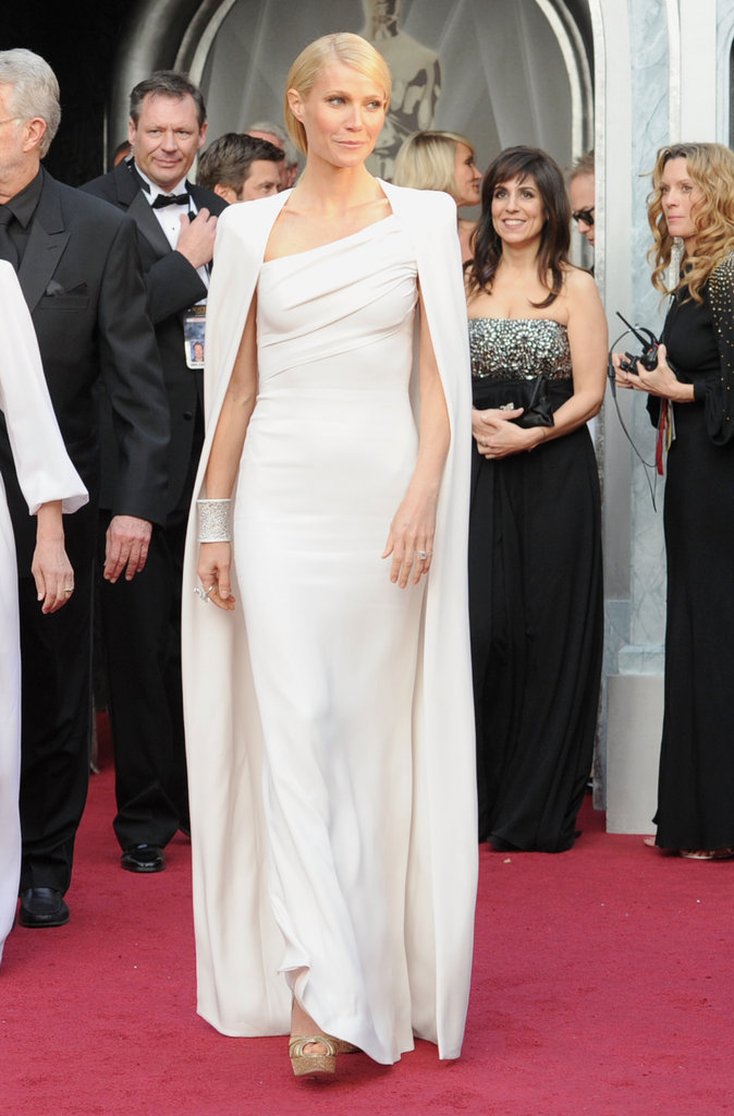 Gwyneth Paltrow wore Tom Ford to the Oscars.