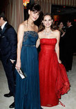 Katie Holmes Makes Her Oscar Night Debut With Tom Cruise at Vanity Fair's Party