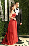 Natalie Portman and Benjamin Share Cute Kisses and PDA at Vanity Fair