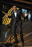 Chris Rock took the stage at the 2012 Oscars.