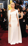 Gwyneth Paltrow wore Tom Ford at Oscars 2012.