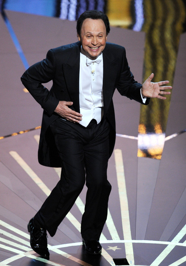 Billy Crystal performed a song during the show.