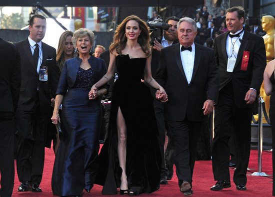 Brad Pitt and Angelina Jolie Double Date at the Oscars With His Parents