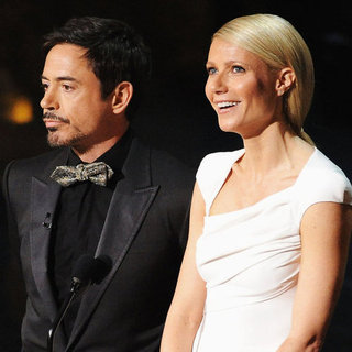 Gwyneth Paltrow Pictures Onstage at Oscars 2012