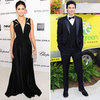 Nina Dobrev and Ian Somerhalder Pictures at Elton John Party