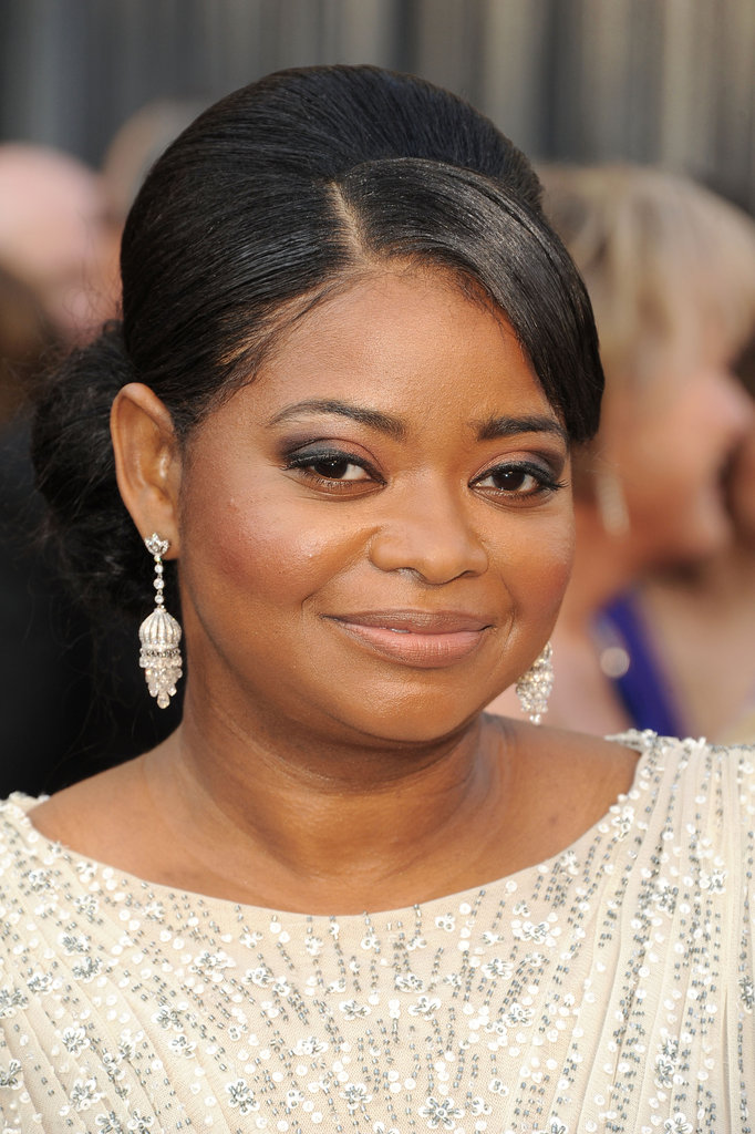 Best Supporting Actress Nominee Octavia Spencer from The Help at the Oscars Arrivals