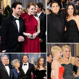 Stars Share Their Oscar Night With Family and Friends