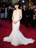 Rooney Mara in Givenchy Couture.