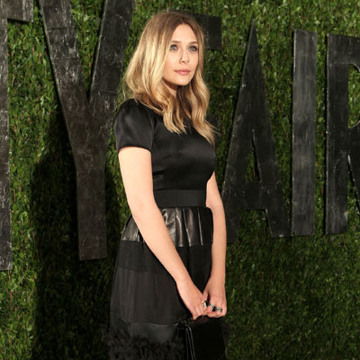 Elizabeth Olsen at Vanity Fair Oscars Party 2012