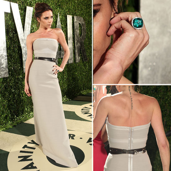 Victoria Beckham at Vanity Fair Oscars Party 2012