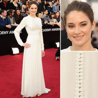 Shailene Woodley Wears Long Sleeved Valentino on the 2012 Oscars Red Carpet: Like it or Loathe It?