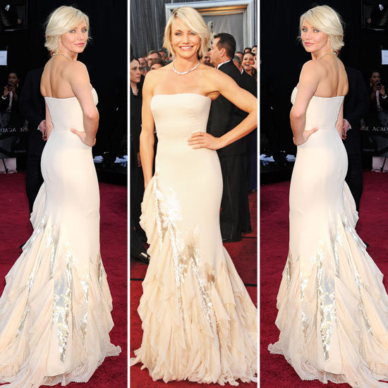 Oscars 2012 Get Cameron Diazs Bridal Inspired Look For Less With Images Smartbride Storify
