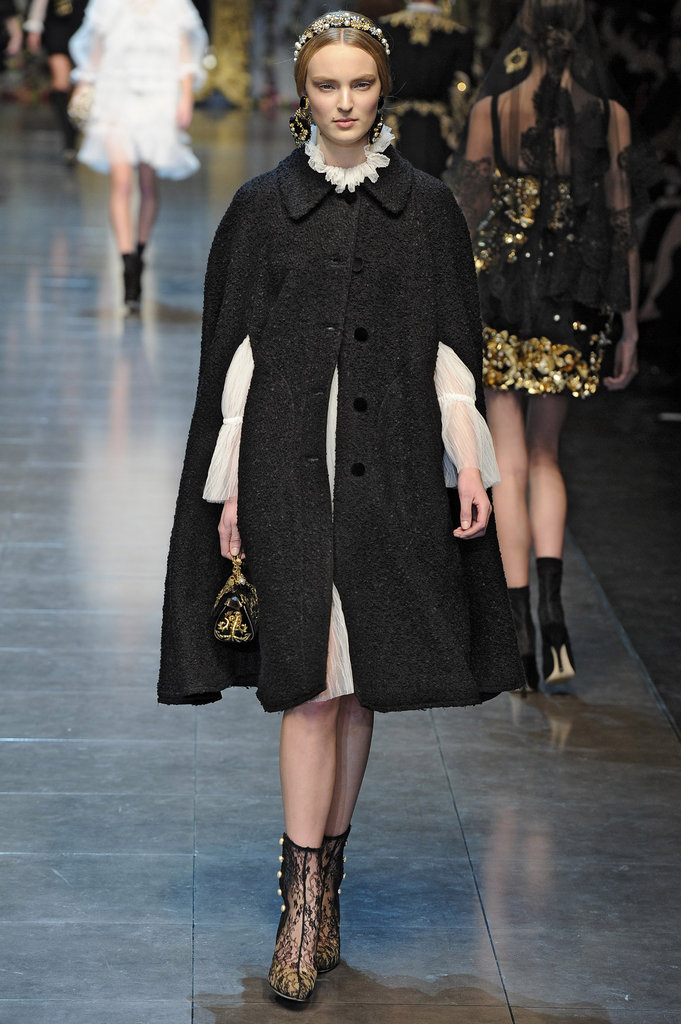 2012 A/W Milan Fashion Week: Dolce & Gabbana