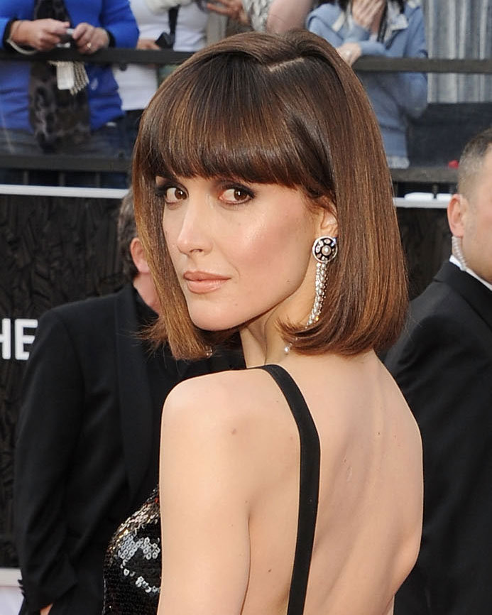Rose Byrne revealed a pair of Chanel tassel-drop earrings.