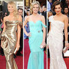 Celebrities Wore Shoulder Baring Dresses on the 2012 Oscars Red Carpet: Stacy Keibler, Milla Jovovich and more worked the trend!