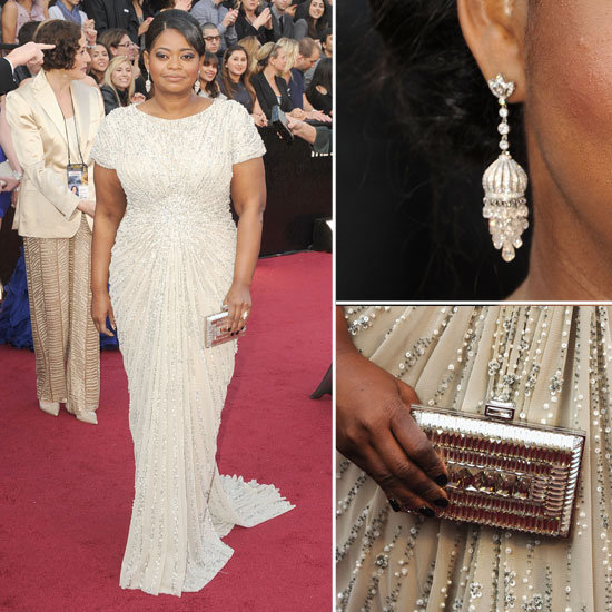 Octavia Spencer at Oscars 2012