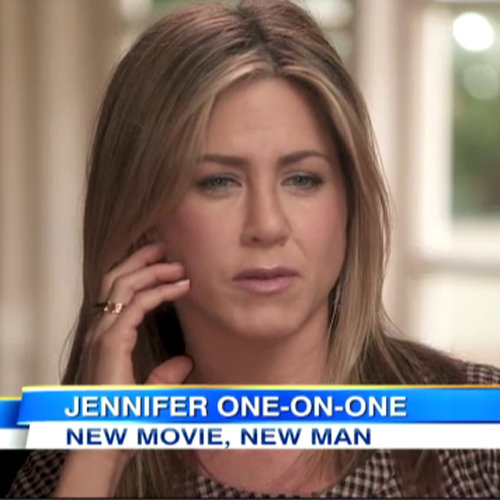 Jennifer Aniston Talks Justin Theroux on GMA (Video)