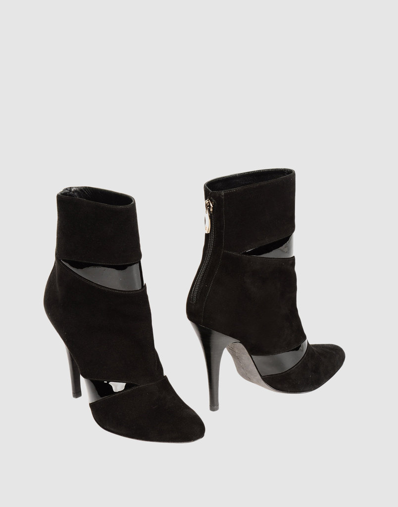 These Barbara Bui booties are dynamic, sleek, and a favorite of Rosie Huntington-Whiteley. Barbara Bui Ankle Boots ($255, originally $425)