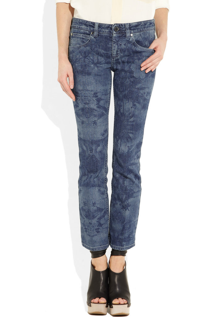 Stella McCartney Hawaiian-print Jeans ($665)