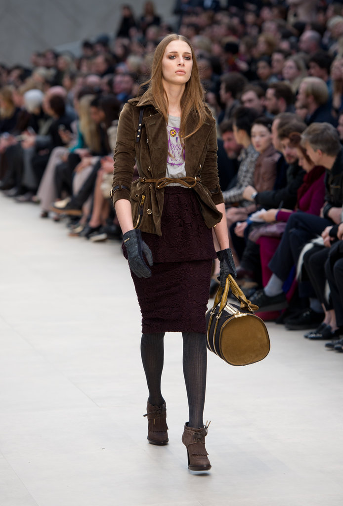 2012 A/W London Fashion Week: Burberry Prorsum